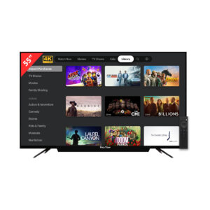 """Nice View 55"""" 4K Smart Android LED TV"""