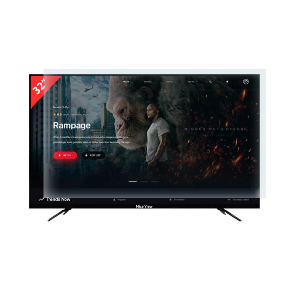 """Nice View 32"""" Smart Android Double Glass LED TV"""
