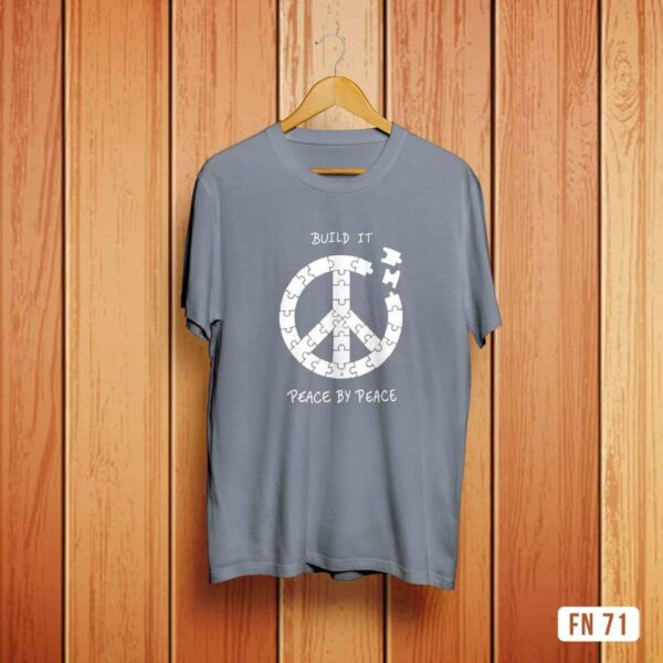 Build It Peace By Peace Tshirt
