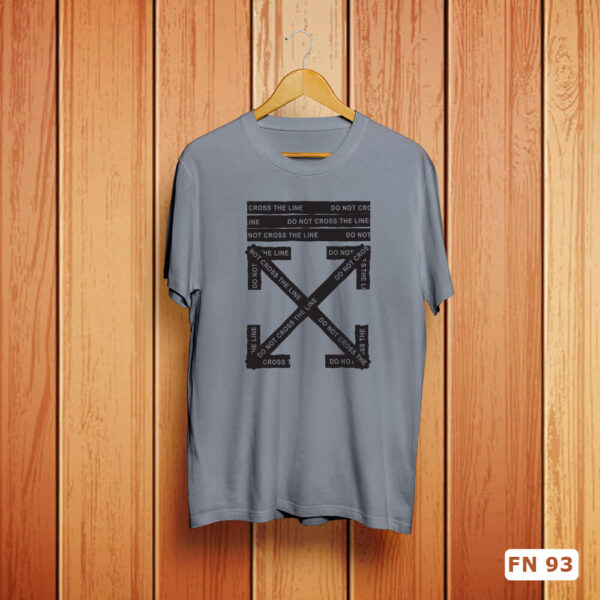 Do Not Cross The Line Tshirt